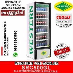 Vertical Glass Door Chiller Western Cooler Src500gl