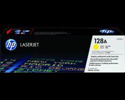 HP 128A Yellow Original LaserJet Toner Cartridge
