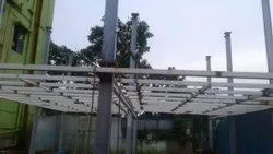 Prefab Iron Structure Construction For Showroom