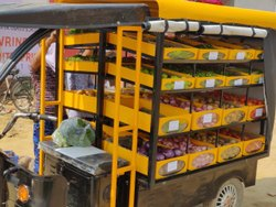 Electric Loader for Fruit & Vegetable Delivery (Open Body)