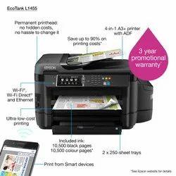 EcoTank L1455 Multifunction InkTank Printer, For Office, Color