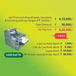 Autoprint Mini Offset Printing machine - 1520 Colt 7k