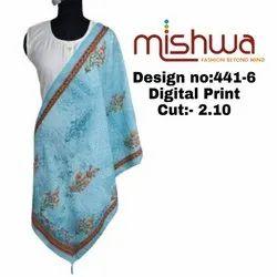 Digital Ladies Printed Dupatta