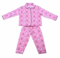 Kids Full Sleeve Night Suits