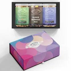Healthy Treat Imperial Gift Box I Diwali Combo Gift Hamper