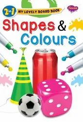 2 in 1 My Lovely Board Book Shapes and Colours