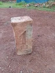 1 Marked Red Clay Brick