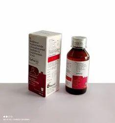 Ambroxol 30 Mg + Levosalbutamol 1 Mg + Guaifenesin 50 Mg +Menthol 2.5mg