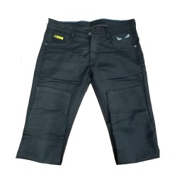 Plain Regular Fit Men Casual Black Jeans
