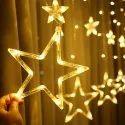 Golden Color Aluminium Wire Star Light, For Decorative