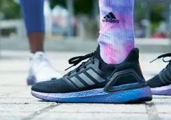 Black Daily Wear Adidas Ultra Boost Shoes For Men, Size: 41-42-43-44-45