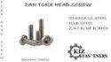 Pan Head Torx Screws
