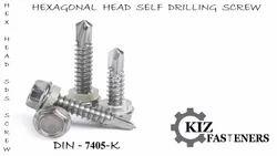 Hex Head Self Drilling Screw
