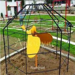 Outdoor Science Park Equipment Floating Bird