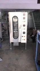 Non Free Flow Liquid Pouch Packing Machine