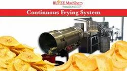 Continuous Fryer Wood Operated