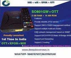 2GE+Wifi+XPON+OTT