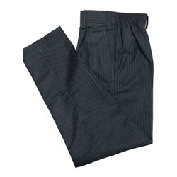 Cotton Check School Uniform Pant, Waist Size: 28inch