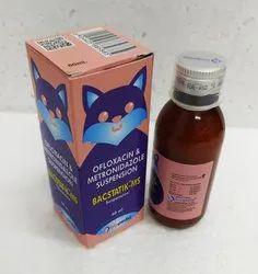 Ofloxacin 50mg + Metronidazole Benzoate 100mg