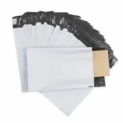 Plain Temper Proof Courier Bags