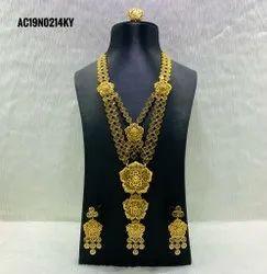 Designer Exclusive Indian Jewelry Artificial Bridal Set