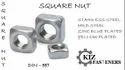 SS Square Nuts