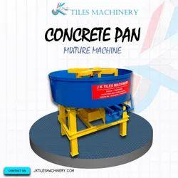 Concrete Pan Mixture Machine