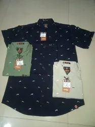 Cotton Printed Imported Qundom Pq Shirt For Boys, Formal Wear