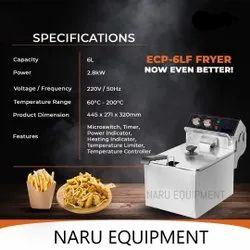 Electric Deep Fryer with Timer