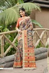 8 Colour Festive Wear Women Nitya Silk Saree, With Blouse Piece, 5.5 m (Separate Blouse Piece)