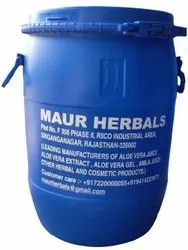 Maur Herbal Natural Aloe Vera Gel for Body, Face and Hair, Packaging Size: 50 kg Drum Packing