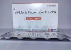 Etodolac 400mg,Thiocolchicoside 4mg Tablet