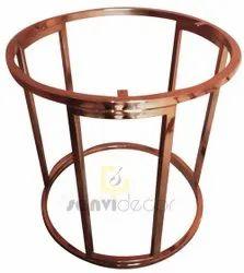 2 Feet Stainless Steel Stool Frame, For Home