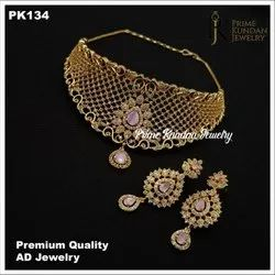 American Premium Quality AD Jewelry, Size: Free