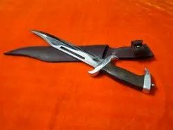 High Carbon Steel Brown Bowie Knife For Personal