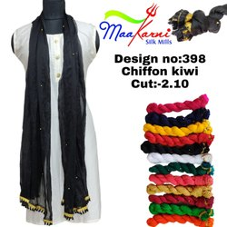 Chiffon Kiwi Ladies Dupatta