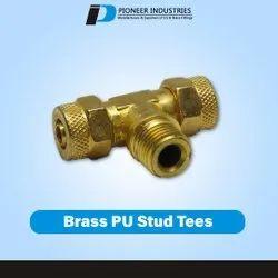 Brass PU Stud Tees