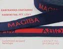 Customized Jacquard Elastic Name Tape