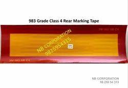 C4 Rear Marking Plate