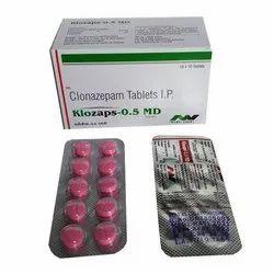 Clonazepam Mouth Dissolving Tablets 0.5mg 10x10 Strips