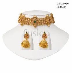 Fusion Arts Traditional Choker Necklace Set