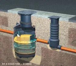 Grease separator Euro G according EN 1825-1 NS 1/2/4 for underground installation
