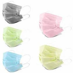 3 Ply Protective Face Mask With Nose Clip
