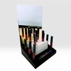 Acrylic Lipstick Display Stand, For Cosmetic / Retail Shop