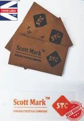 Logo clothing tags
