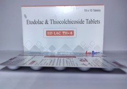 Etodolac 400mg And Thiocolchicoside 4mg Tablet