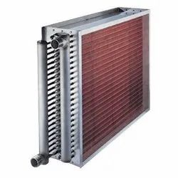 Aluminium Central Air Condenser For Industrial, Number Of Fans: 2