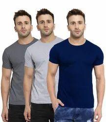 Printgifts Hosiery Half Sleeves T-Shirt, Size: Medium