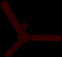 3 White Vichitra Ceiling Fan 1200mm ISI, Size: 48, 50w