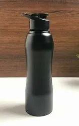 Stainless Steel Matte Black Bottle